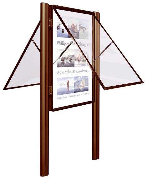 Gabloty og oszeniowe cienne informacyjne stoj ce tablice for Porte menu exterieur occasion